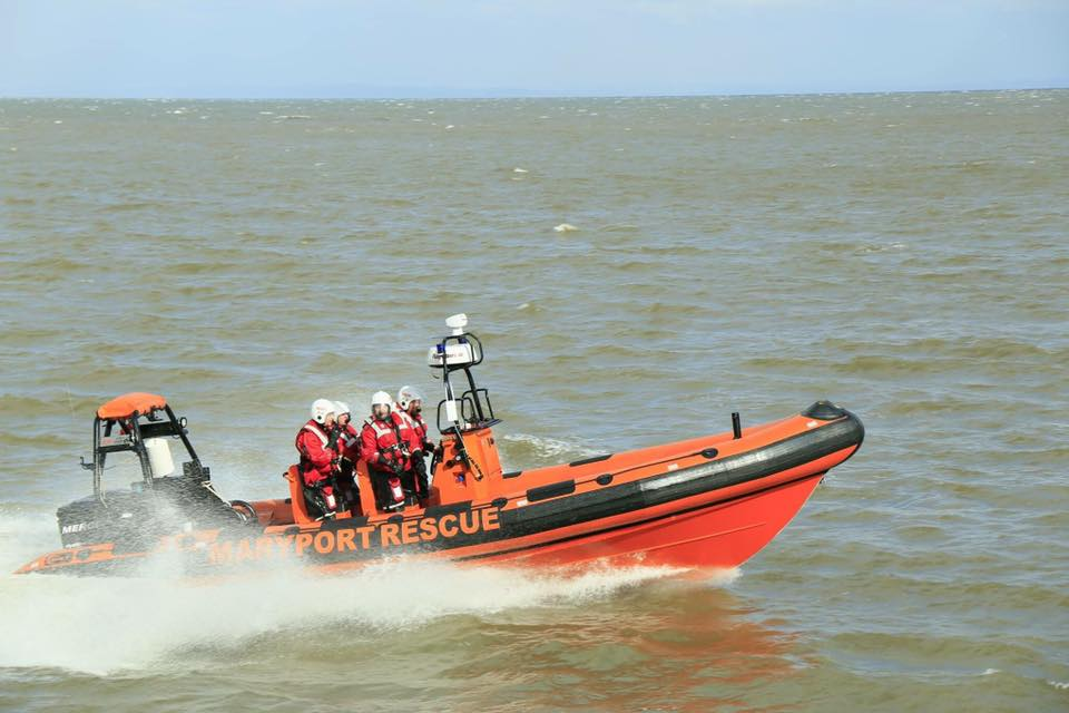 Two Call Out's in One day for The Maryport Rescue Team